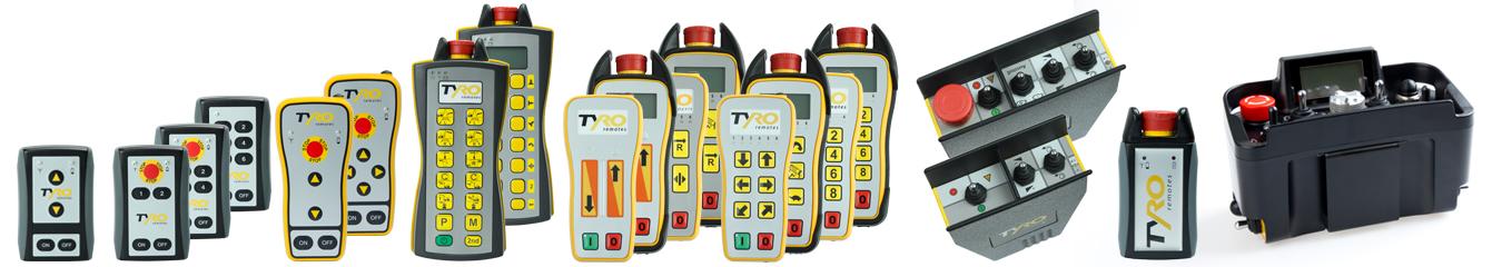 industriële afstandsbedieningen